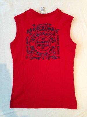 Abercrombie-Shirt mit Glitzeraufdruck, Gr. S