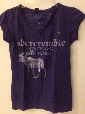 Abercrombie & Fitch Camicia fantasia viola scuro