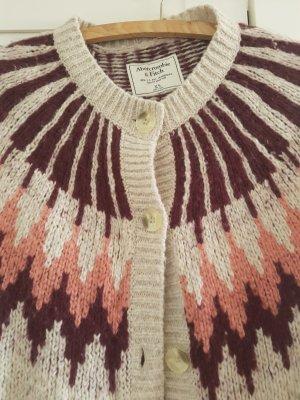 Abercrombie & Fitch Smanicato lavorato a maglia beige