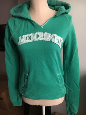 Abercrombie & Fitch Hooded Sweater forest green
