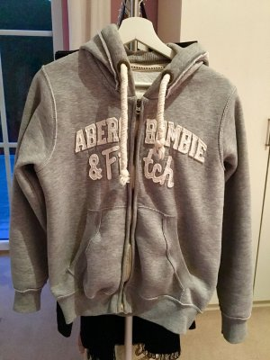Abercrombie & Fitch Hooded Sweater grey-light grey