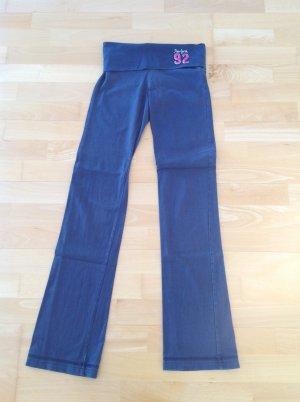 Abercrombie & Fitch Pantalone fitness blu acciaio