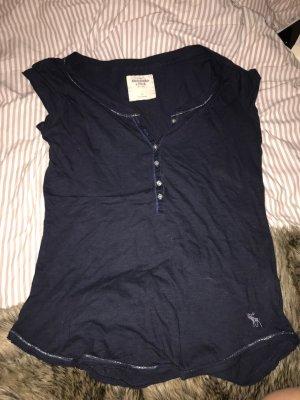 Abercrombie & Fitch T-shirt bleu foncé
