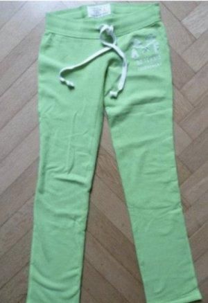 Abercrombie & Fitch Pantalon de jogging vert menthe-vert clair