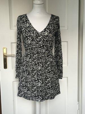 Abercrombie und Fitch kurzes Kleid XS - schwarz weiß Muster
