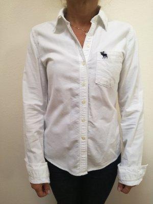 Abercrombie weißes Damen Hemd Gr. S