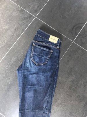 Abercrombie & Fitch Slim jeans donkerblauw