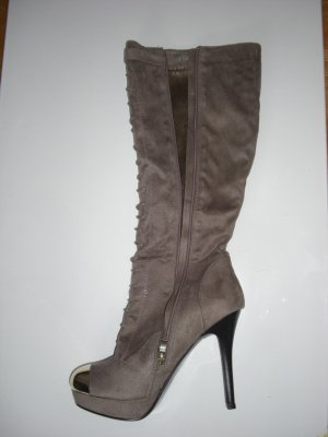 Abgefahrenes Stiefel Taupe Gr. 41 MUSE INDEPENTEND WEAR