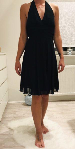 Montego Vestido de cuello Halter negro