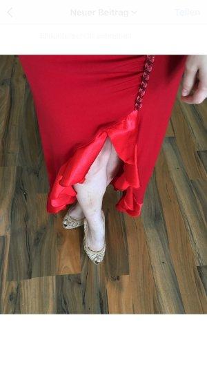 Abito da ballo rosso-rosso chiaro