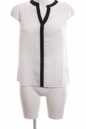 About You Blouse Top white-black business style