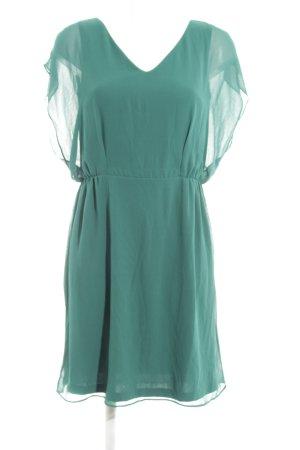 About You Chiffon jurk groen casual uitstraling