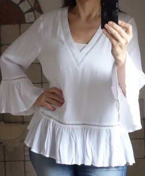Minimum Slip-over blouse wit Viscose