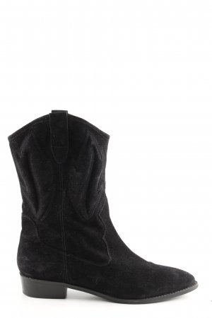 About You Western-Stiefeletten schwarz Casual-Look
