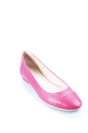 abro Bailarinas rosa look casual