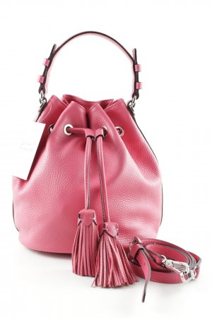 "abro Beuteltasche ""Adria Bucket Bag Calf Leather Vamp"" pink"
