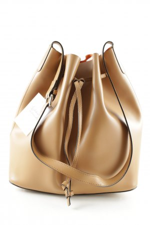 "abro Pouch Bag ""Carmen Calf Leather Bucket Bag Cuoio/Orange"" orange"