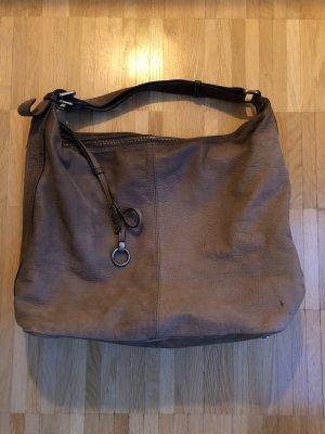 abro Pouch Bag grey-grey brown
