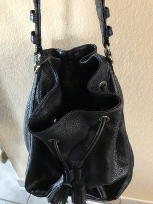 abro Pouch Bag black leather