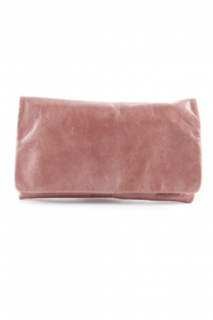abro Clutch stoffig roze wetlook