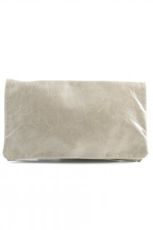 abro Clutch grey brown elegant