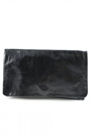 abro Clutch black casual look