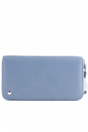 abro Wallet steel blue-silver-colored business style