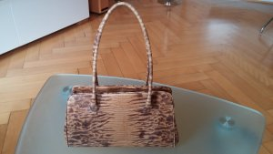 abro Handbag camel-brown imitation leather