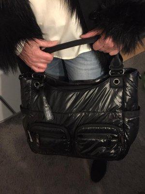 abro Handbag black-silver-colored