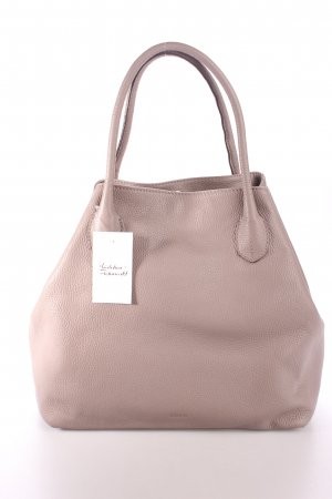 "abro Handtasche ""Adria Calf Leather Bag Zinc"" grau"