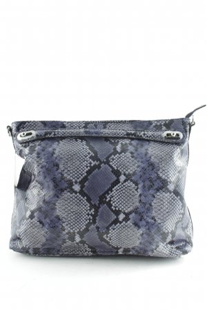 "abro Handbag ""Adria Diamant Lux Snake Hobo Bag Navy"""