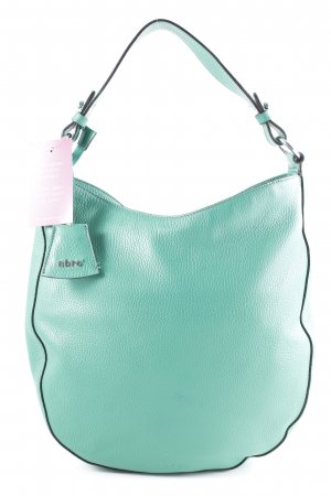 "abro Handtasche ""Adria Leather Hobo Bag Green"" grün"