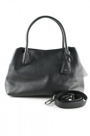 "abro Handbag ""Adria Leather Tote 4 black/nickel"" black"