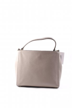 "abro Handtasche ""Adria Tophandle Calf Leather Zinc"" hellgrau"