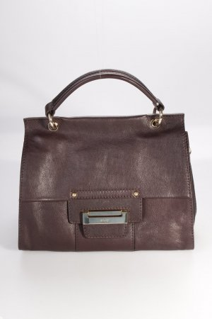 Abro Handtasche Alcudia Leather Handbag Dark Brown