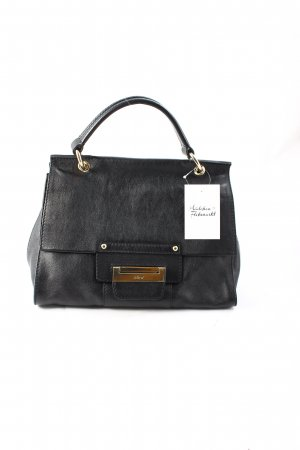 "abro Handtasche ""Alcudia Leather Satchel Black"" schwarz"