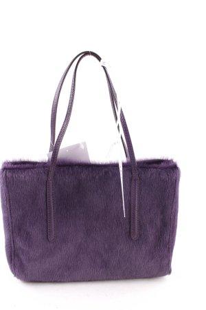 "abro Handtasche ""Cavallino Handbag Unicolor"" dunkelviolett"