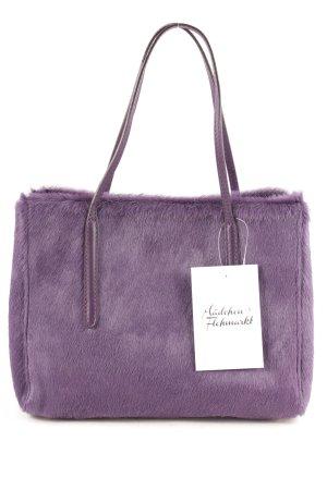 """abro Handtasche """"Cavallino Handbag Unicolor"""" lila"""