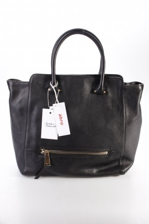 Abro Handtasche Gibson Leather Handbag Black