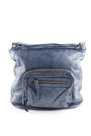 089c53072c822 abro Handtasche graublau Business-Look