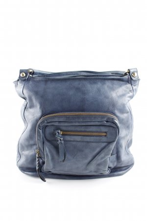 abro Handtasche graublau Business-Look