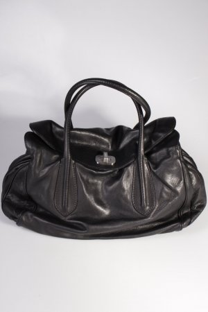 Abro Handtasche Handbag Leather Braveheart Black
