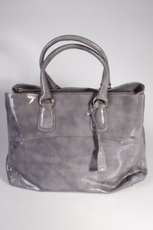 Abro Handtasche Handbag Leather Patent Grey I