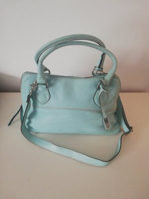 cheapest price premium selection best sale Abro Handtasche hellblau Leder