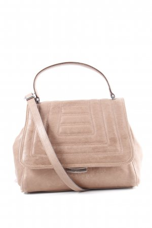 "abro Handtasche ""Lamb Leather Satchel 2 Camel Light"" hellbraun"