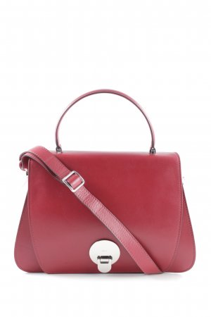 "abro Handtasche ""Lotus Handle Bag Red"" dunkelrot"