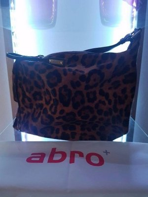 abro Handbag multicolored fur