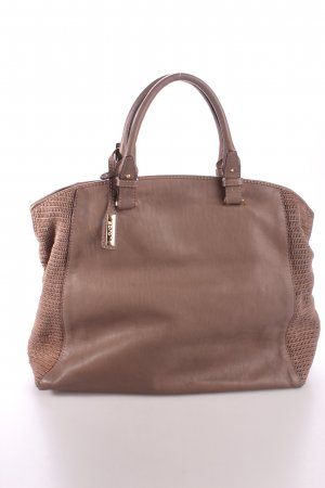 "abro Handtasche ""Naure Washed Nappa Leather Tote"" braun"