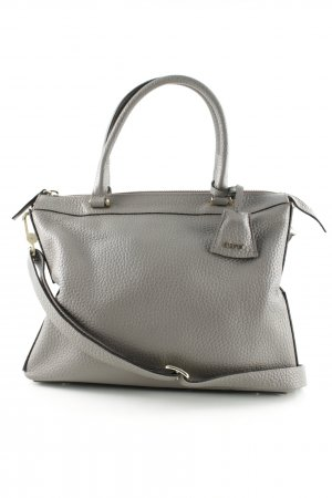 "abro Borsetta ""Newton Leather Tote Zinc"" marrone-grigio"