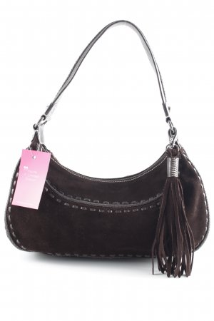 abro Handbag black brown casual look